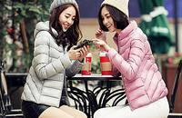輕薄羽絨服新款韓版修身顯瘦女裝大碼羽絨外套