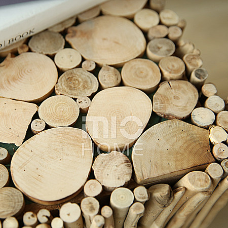 北欧漂流木时尚小角几