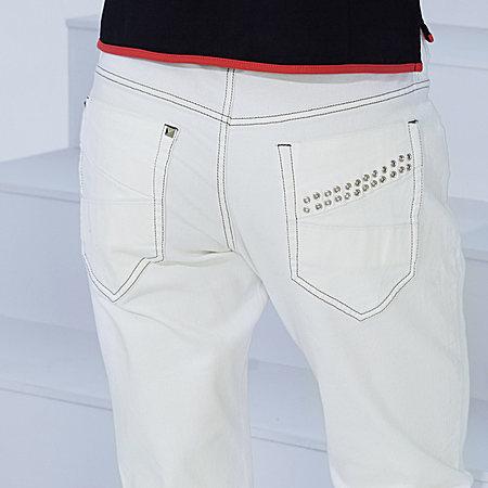 纯色直筒休闲裤