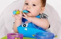 凯德氏儿童餐具吸盘碗宝宝餐具套装训练辅食碗