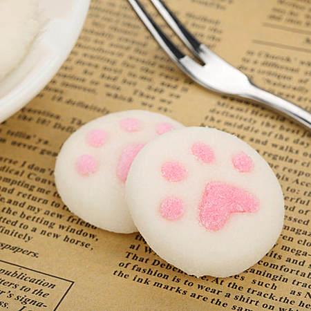 猫爪棉花糖休闲零食