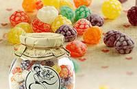 西班牙草莓形什锦味糖果