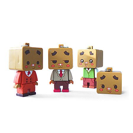 5折包邮 新款U盘创意可爱动漫玩偶U盘 8G