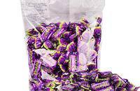 俄罗斯紫皮糖T杏仁酥果仁夹心巧克力