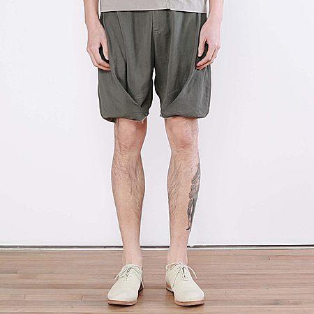 纤维宽松个性毛边舒适休闲短裤