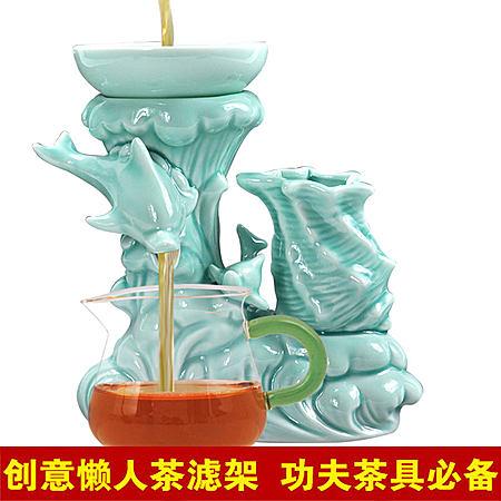 乐享聚惠 创意陶瓷茶漏