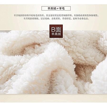 加厚羊羔绒小毛毯