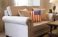 美式乡村 布艺沙发