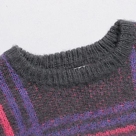 SHITI/诗媞 秋冬新款长袖毛衣加厚保暖毛针织衫