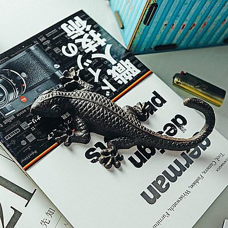 日本壁虎造型铸铁挂钩