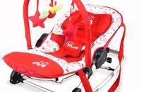 超轻铝合金婴儿摇椅欧式躺椅宝宝安抚椅睡椅