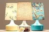 玻璃台灯创意卧室床头简约现代北欧田园中式设计