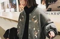 梅花刺绣外套