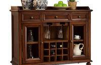 美式实木酒柜、餐边柜
