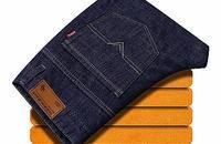卡邦牛新款破洞潮流牛仔裤