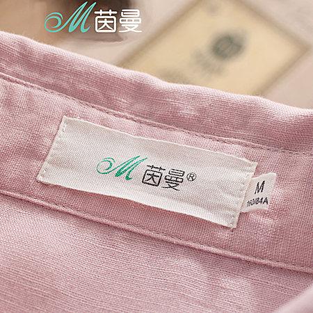 翻领口袋贴布印花衬衫
