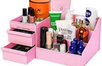 化妆品收纳盒塑料桌面整理储物抽屉式创意收纳箱