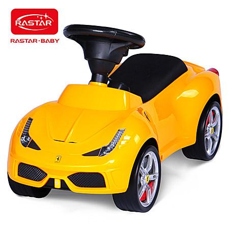 星辉法拉利滑行车儿童宝宝学步童车四轮摇摆玩具