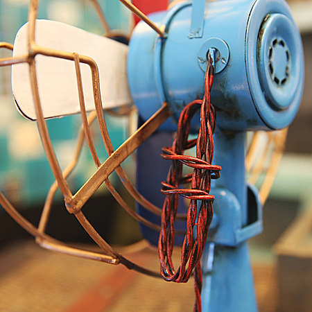 复古电风扇小摆件