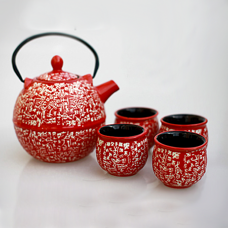 日系和风陶瓷茶具套装