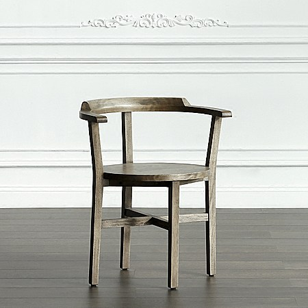 布朗恩白檀木圈椅