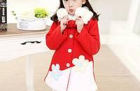 韩版儿童公主呢大衣