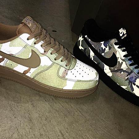 反光迷彩 Nike Air Force 1 07 LV8