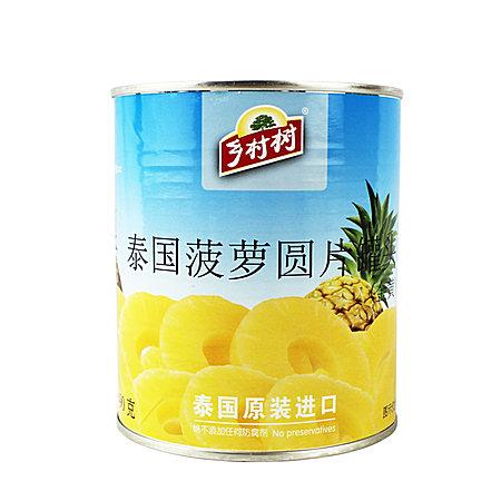 泰国原装进口大片装 热带水果即食 水果罐头