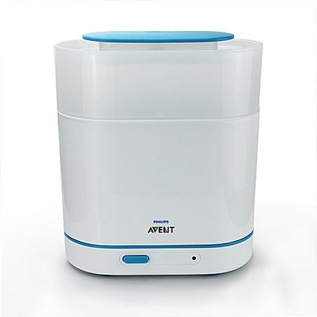 新安怡 3合1多功能电子蒸汽消毒锅 奶瓶消毒器