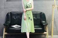 新款女装复古女士透气无袖薄款棉麻连衣裙