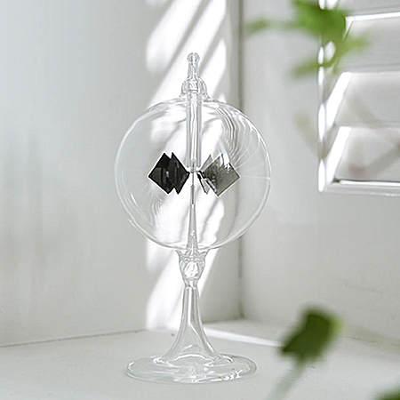 创意玻璃摆件阳光风车
