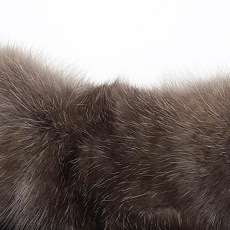 俄罗斯进口紫貂横排皮草