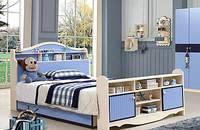 儿童床男孩 多功能储物王子床 简约现代儿童家具