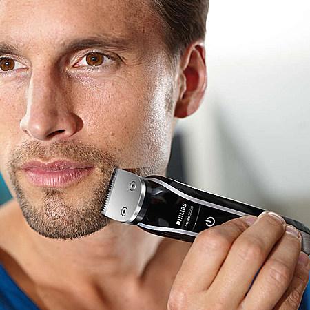 飞利浦一款集理发器+剃须刀+鼻毛修剪器的神器