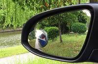 高清无边可调节小圆镜盲点镜倒车后视辅助广角镜