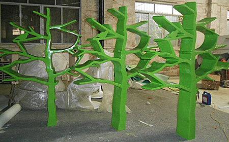 设计师创意玻璃钢置物架