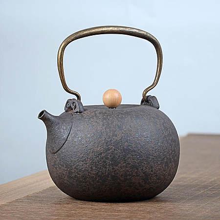 台湾月泉陶高档茶具煮茶壶