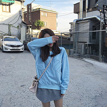 韩国现在最火的sjyp卫衣