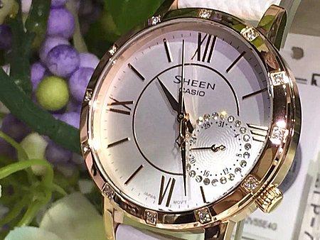 香港代购 原装正品卡西欧SHEEN女手表