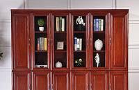 办公文件柜 实木贴皮资料柜 木质档案柜 书柜