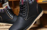 冬季男士防水加厚雪地靴